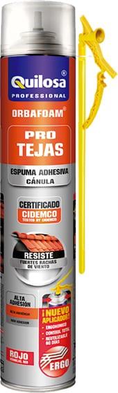 fa6fd46db21 Espuma orbafoam tejas 750 ml rojo pistola - Destornillate